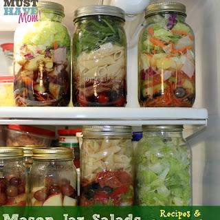 Mason Jar Pasta Salad