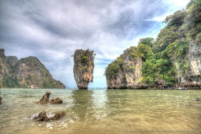 James Bond Ko Tapu islet Phang Nga Thailand