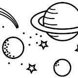 Dibujos Del Universo Para Colorear