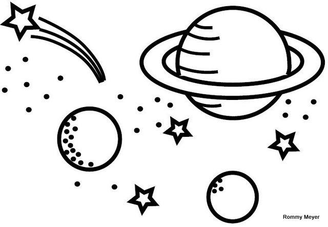 El Universo Dibujos Para Colorear