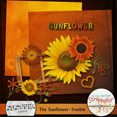 Sunflower-scrapping-element