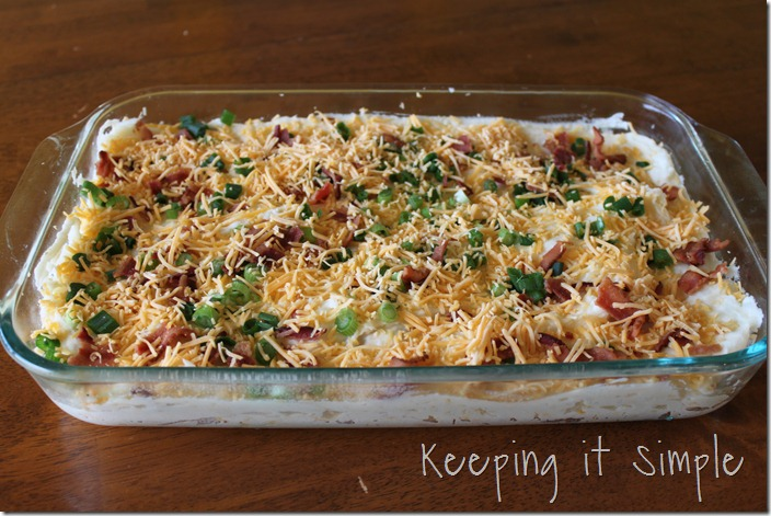 Loaded mashed potato casserole (3)