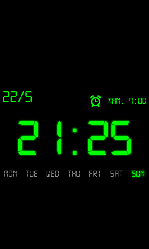 Kaloer Clock - Alarm Clock - screenshot