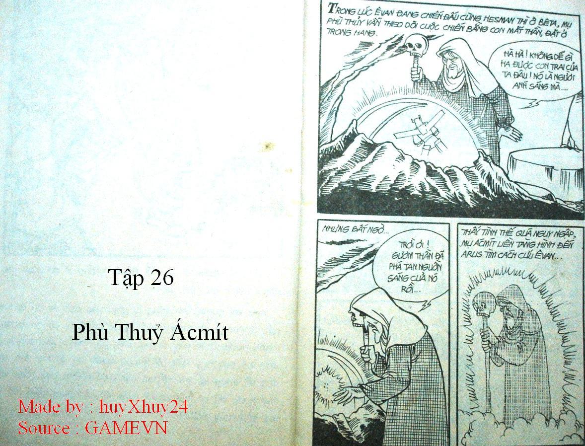 Dũng Sĩ Hesman chap 26 trang 1