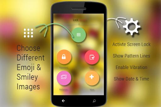無料生活Appの絵文字とスマイリーロック画面|記事Game