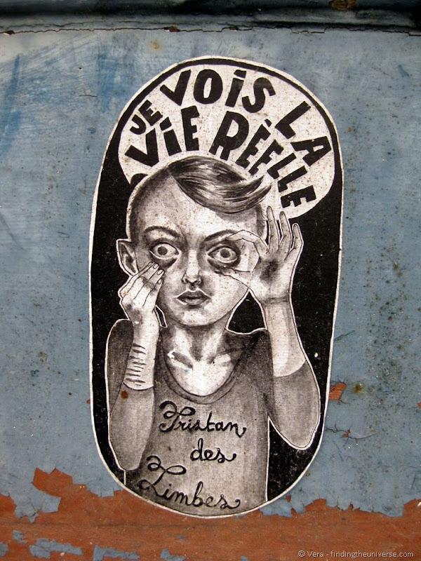 Weird street art France