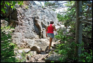 01b - Great Head Trail - beginning the climb