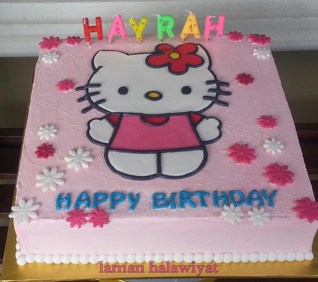 Laman Halawiyat Home Bakery Hello Kitty Birthday Cake