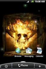 Fire Skull 3D (PRO)
