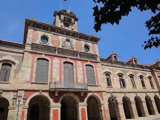 Parlement de Catalogne à Barcelone