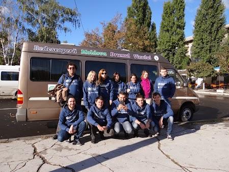 Echipa Descopera Moldova - Drumul Vinului