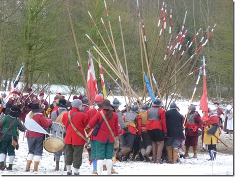 Battle Re-enactment at Mill Island