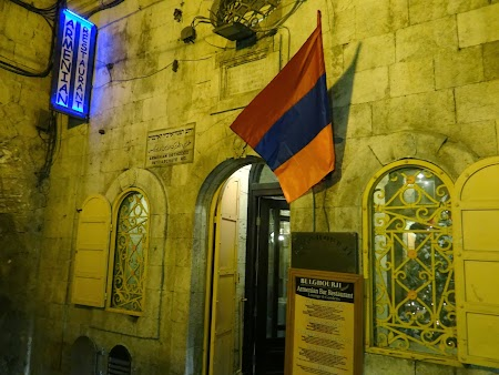 Restaurant armenesc in Ierusalim