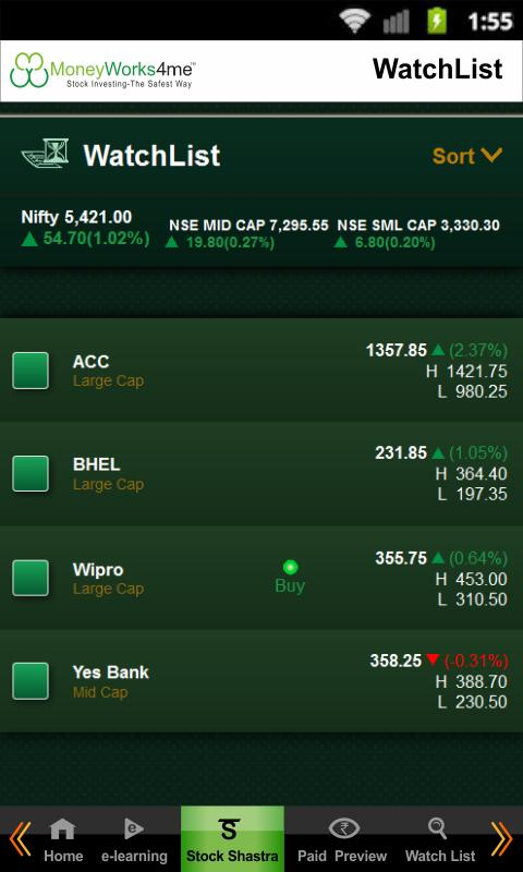 My Stock Genie - Indian Stocks - screenshot