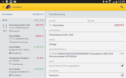 postbank finanzassistent android apps on google play. Black Bedroom Furniture Sets. Home Design Ideas