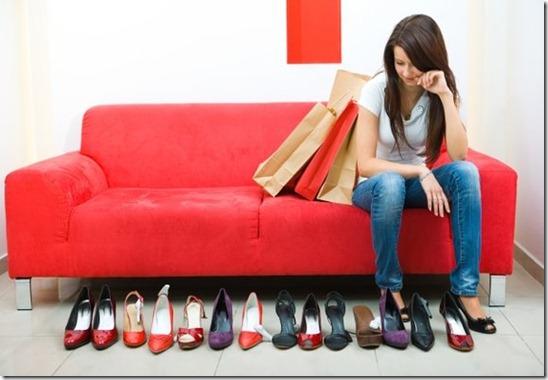 435ea9b60b Quem nunca conheceu uma mulher apaixonada por sapatos  Pois é