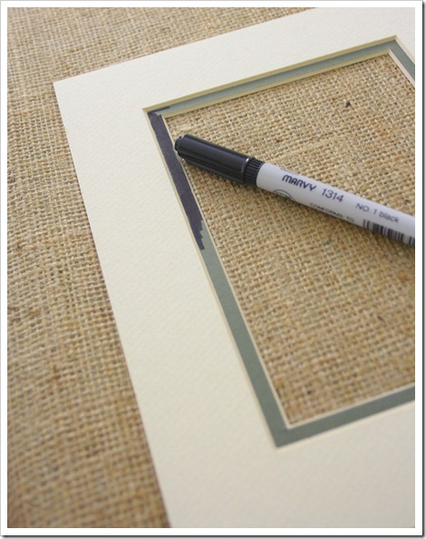 coloring photo mat