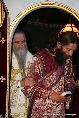 MИТРОПОЛИТ АМФИЛОХИЈЕ СЛУЖИО У РЕЖЕВИЋИМА