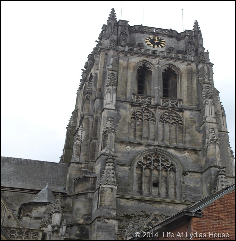 Basilica of Our Lady bell tower Tongeren