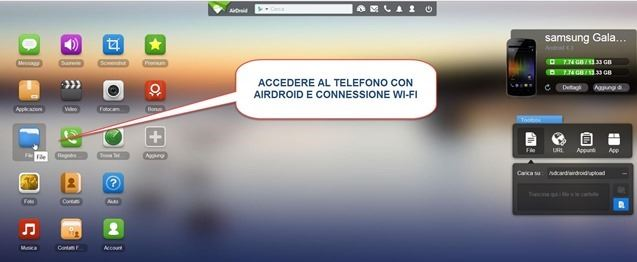connessione-airdroid