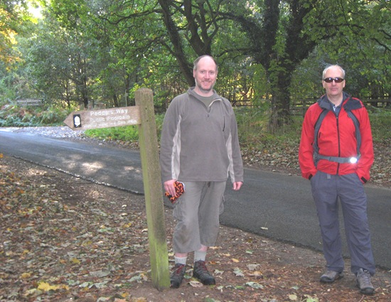Darren & Robin: Peddars Way, Start