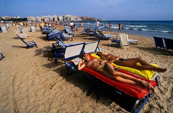 Platja de Llevant Salou, Tarragonès, Tarragona 1994