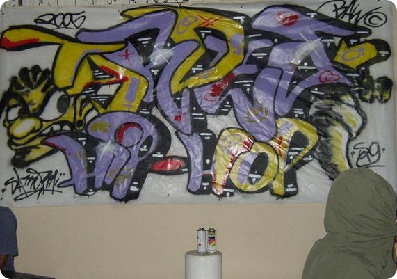Tardes de Hip Hop X Graffite