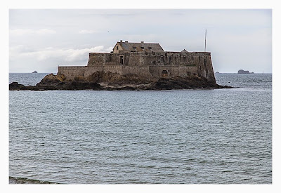 Saint Malo - Geocaching in historischer Kulisse - Fort Nationale