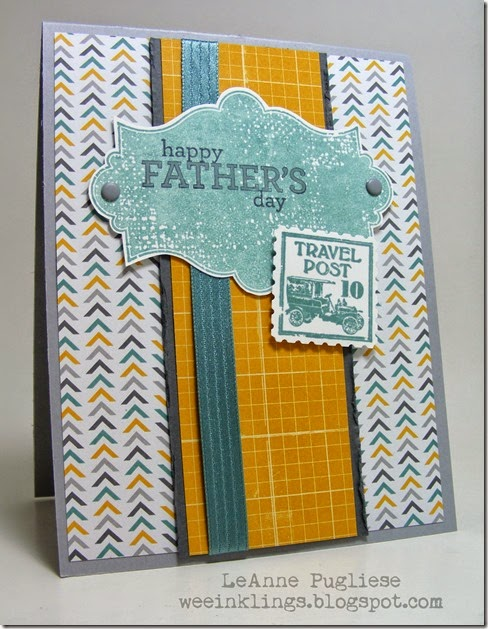 LeAnne Pugliese WeeInklings Paper Players 197 Father's Day