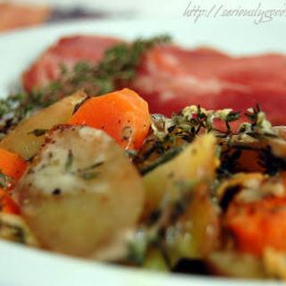Potato/Carrot Gratin.