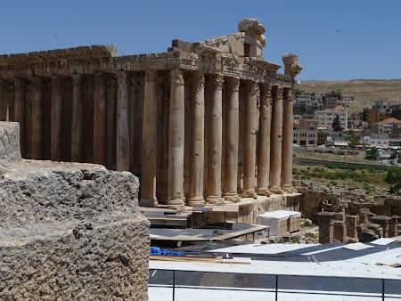 Imagini Liban: templul Afrodita Baalbek