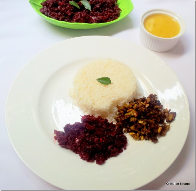Beetroot easy masala recipe