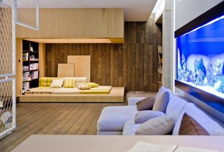 revestimiento-madera-Departamento-loft