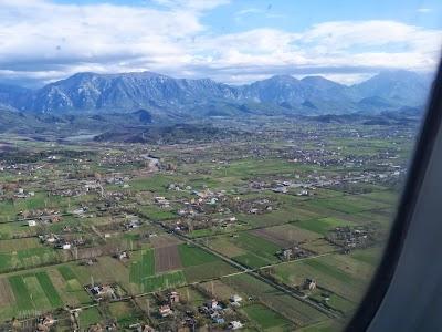 Imagini Albania: Aterizare la Tirana