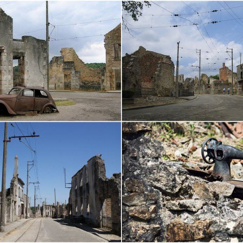 Oradour-sur-Glane: The Village Massacred in WW2 and Preserved Since Then