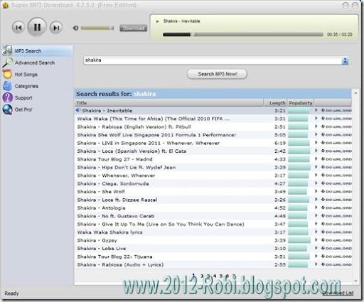 super mp3 download 4.7.5.2 gratuit