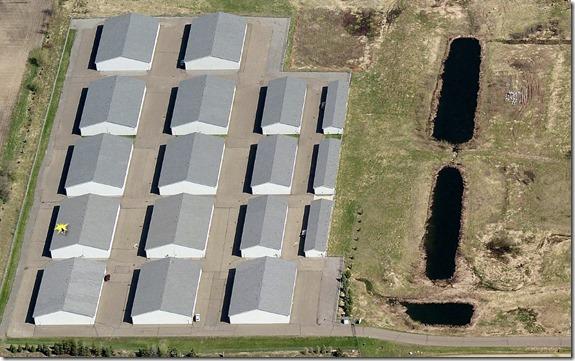 The Quot L Quot Shaped Garage Park Place Storage Condominiums