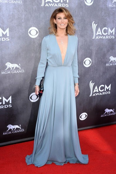 Faith Hill attends the 49th Annual Academy Of Country Music Awards
