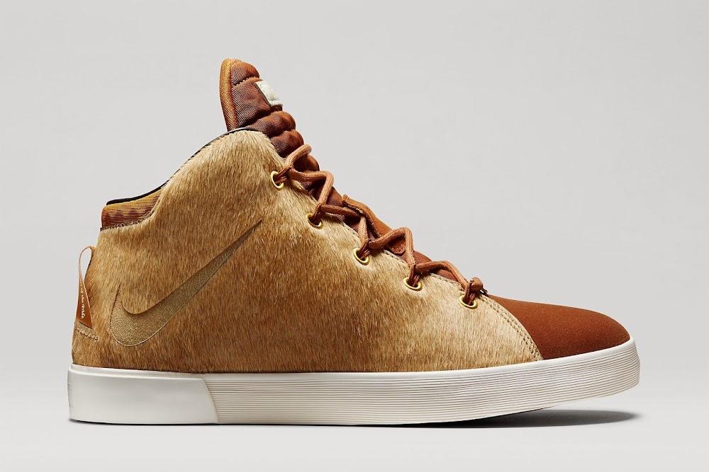 b9ce59792138 ... Camel Camel-Hazelnut-Sail. 8220Lion8217s Mane8221 Nike LeBron XII  Lifestyle Drops on 1227 ...