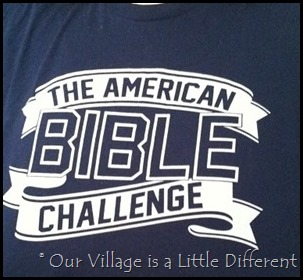 The American Bible Challenge Tee Shirt