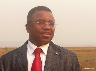 Cosma Wilungula l'Administrateur délégué général de l'ICCN, N'Sele 2010