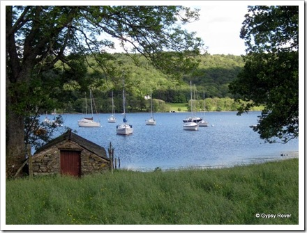 Lake Coniston sailing club.
