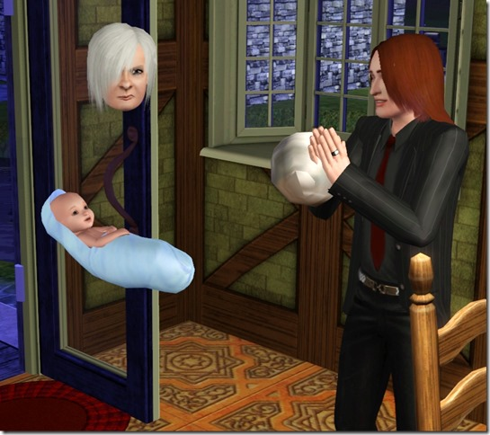 Sims 3 Snapshots & Stories: Mortimer