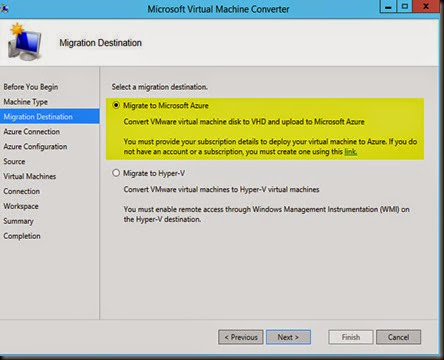 HYPER-V,SYSTEM CENTER AND AZURE: Migrate VmWare Virtual
