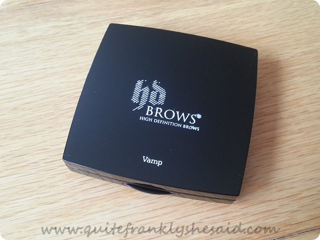 HD Brows EYEBROW palette