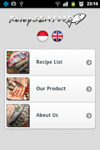 Resep Seafood Indonesia - screenshot thumbnail
