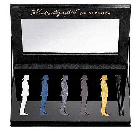 Karl Lagerfeld Sephora Eyeshadow palette swatches ION Orchard Singapore