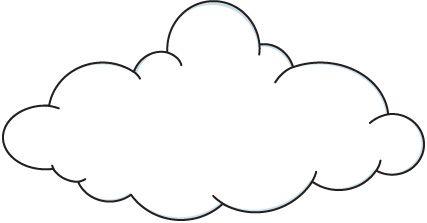 Colorear Dibujos De Nubes