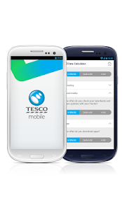 Tesco Mobile- screenshot thumbnail