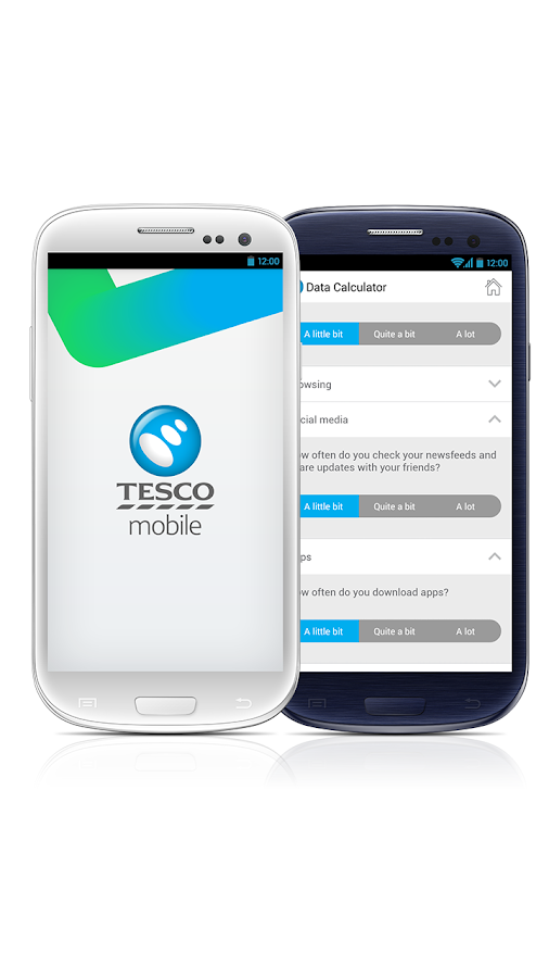 Tesco Mobile- screenshot